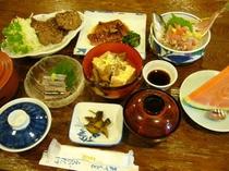 夕食の一例です  3
