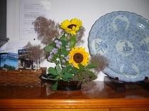 女将の生け花