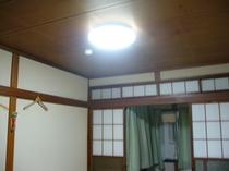 LED照明にリニューアル