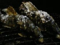 アユの塩焼き