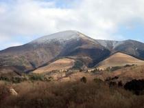 冬の湧蓋山