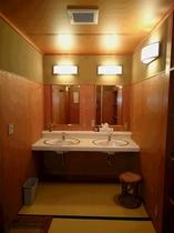 お風呂場の洗面台