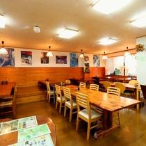 【食事処】朝・夕食は食事処でご用意いたします。ごはんお代わり自由☆