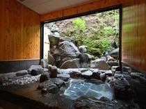 岩の貸切風呂