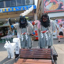 *男鹿半島なまはげ/秋田が誇る雪国の民俗行事。