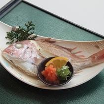 *ご夕食イメージ(鯛の骨蒸し)