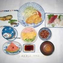 *【夕食例】手作りのお食事でおなかいっぱい♪