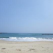 *【周辺】夏には様々なイベントが開かれる河原子海岸。