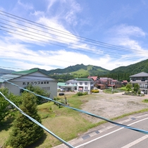 *お部屋からの景観/新潟の田園風景が広がります。