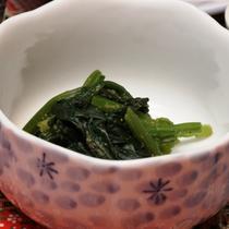 ☆料理_朝食_お浸し