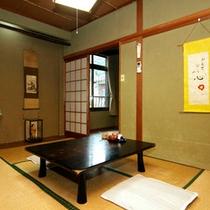 落ち着きのある和室