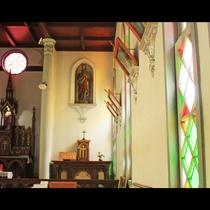 津和野カトリック教会内