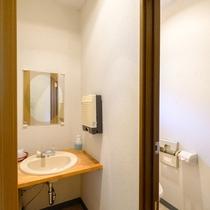 ■由布岳が見える和室12畳 洗面台