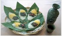 料理一例・笹寿司