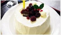 料理一例・クリスマスケーキ