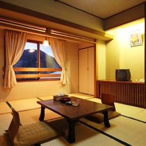 和室8畳の部屋イメージです