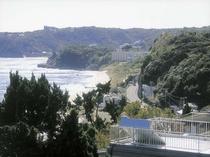 屋上からの景色 中央海水浴場まで歩いて6分