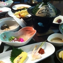 【ご夕食】:ボリューム満点♪5