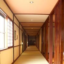 *館内1階廊下