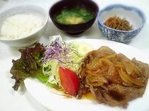 しょうが焼き定食(850円)