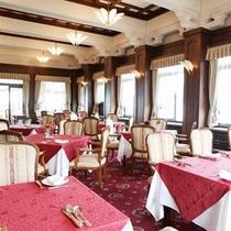 クラシカルな雰囲気を漂わせるレストラン