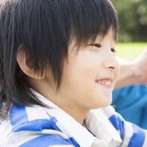 子供の笑顔は家族みんなを幸せにしてくれます。