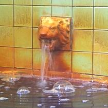 *【温泉】数々のメディアに取り上げられ続ける龍王閣。いらしたお客様は成分の多さに驚かれます。