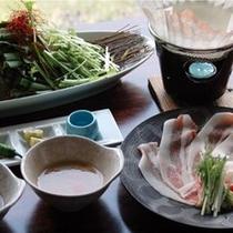 豚しゃぶ(料理一例)