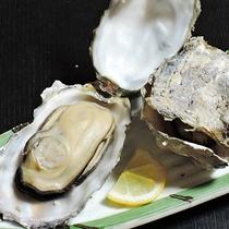 *【夕食一例】11月~3月には牡蠣がでてくることも!