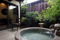 【貸切風呂】アジアンリゾート風の貸切露天/乙女の湯