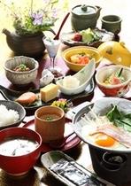 【朝食】自家製と手作りにこだわり抜いた朝食をお楽しみ下さい/例