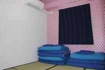 レディスフロア4.5畳和室ツイントリプル