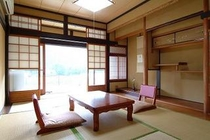 ●「芦生」ASHIU:6畳和室(3〜4名様)縁側・床の間・洗面所・クロ-ゼット