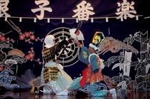国重要無形民族文化財「根子番楽」 定期公演は毎年8月14日