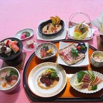 ≪薩摩黒づくし≫当館一番人気!ご当地薩摩の黒食材を食べつくす!