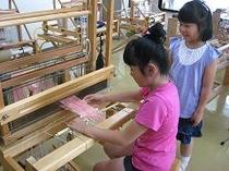 織物体験(1)
