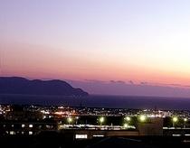 夕暮れ駿河湾