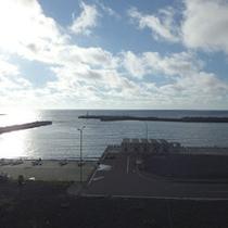 *客室からの眺望/お部屋からの朝日