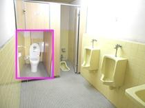 共同トイレ(洋式&洗浄機能付き便器あります。)