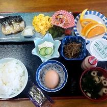 *【ご朝食一例】和朝食を1階のレストランにてご用意致します