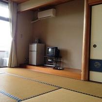 *【和室6畳】コミュニティセンター(宿泊施設棟)の2階が客室です