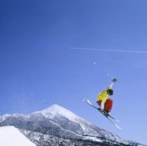 磐梯山ジャンプ