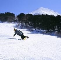 磐梯山 ボーダー
