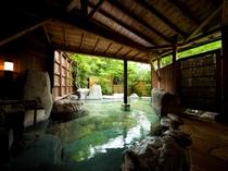 【大黒の湯】男性用露天風呂