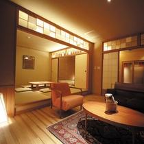 ひのき風呂付和室「落葉松」