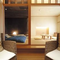 ひのき風呂付和室「火山灰地」
