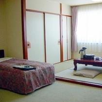 客室:新館和洋室