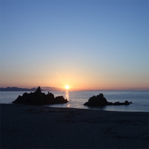 ◆水晶浜 窓から見える絶景