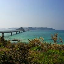 *角島までは車で約40分!