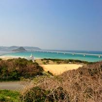 *角島/日本一の大橋がかかる美しい島